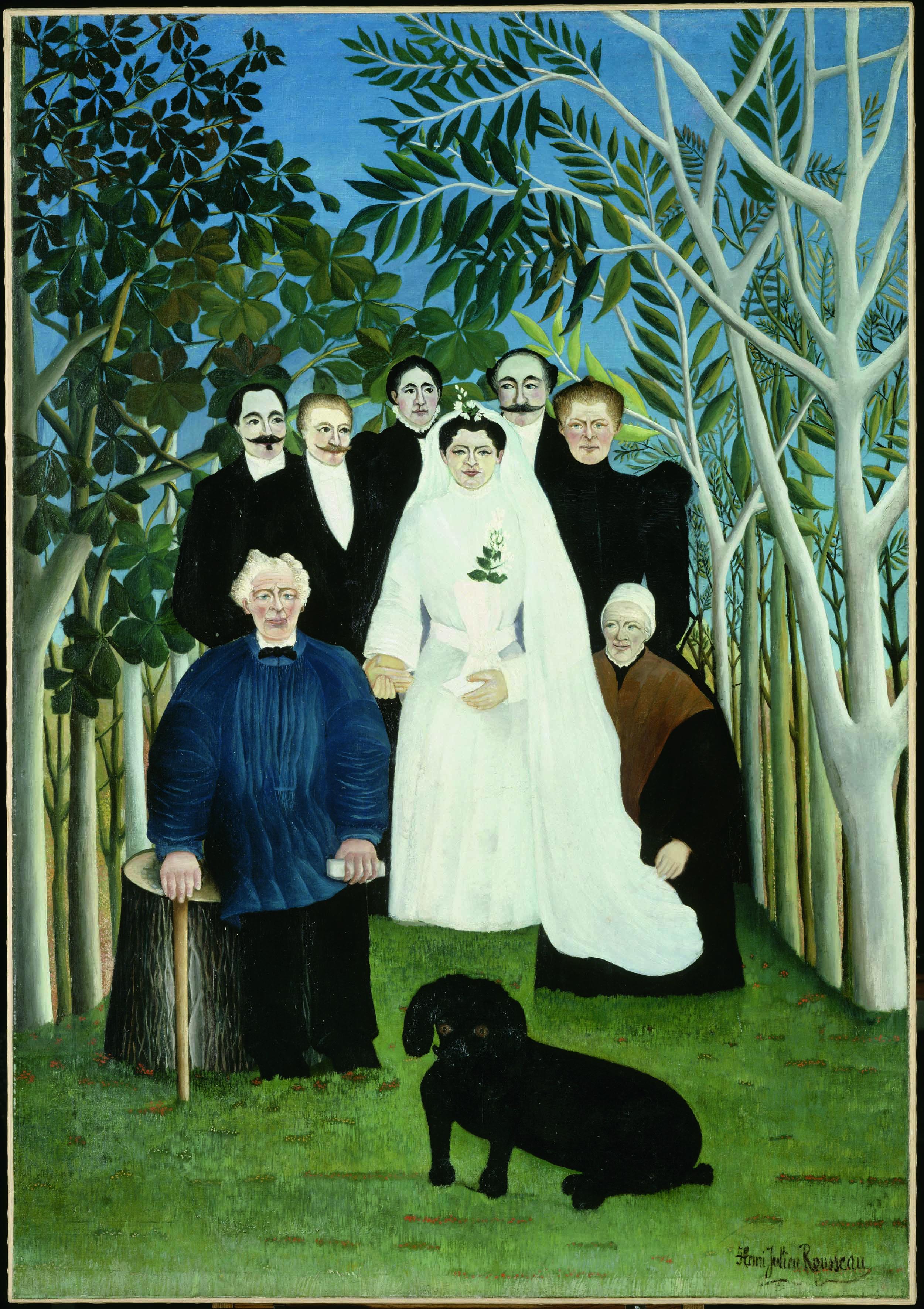 La boda, 1904, óleo sobre lienzo, Musée de l'Orangerie, París.