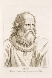 Platón, por Mengs.