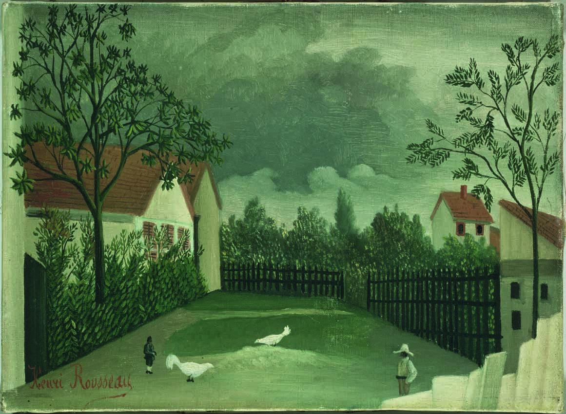 La basse-cour (1896-1898).