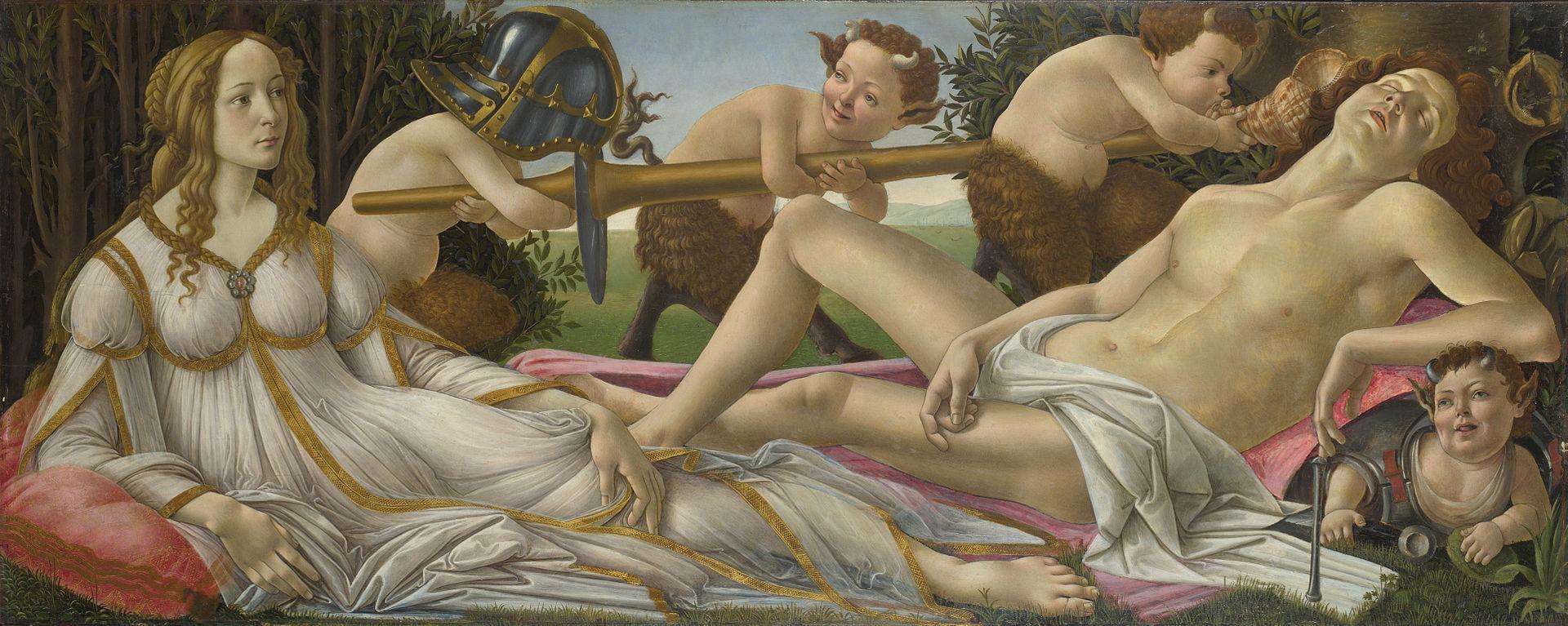 Venus y Marte.