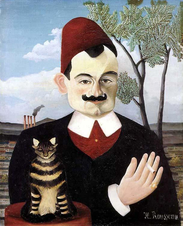 Retrato del Señor X (Pierre Loti), óleo sobre lienzo, 1910, h. 1910, Kunsthaus, Zürich.