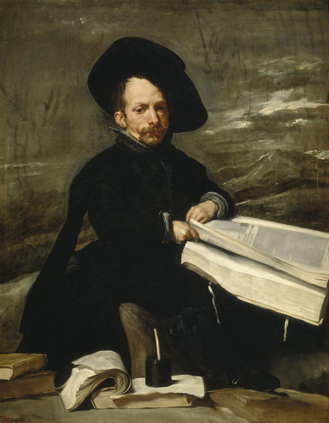 El bufón don Diego de Acedo, de Velázquez, Madrid, Museo del Prado.