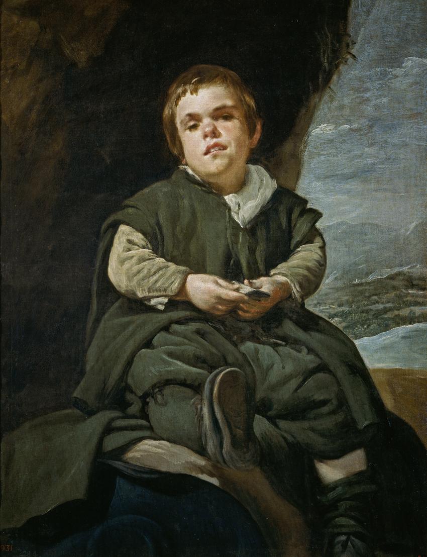 El niño de Vallecas, de Velazquez, Madrid, Museo del Prado.