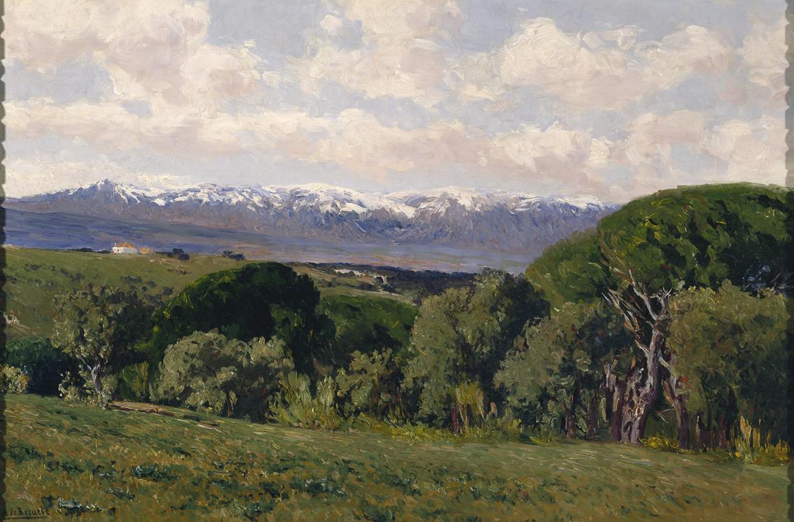 Vista de Guadarrama desde el Plantío de los Infantes, de Beruete.
