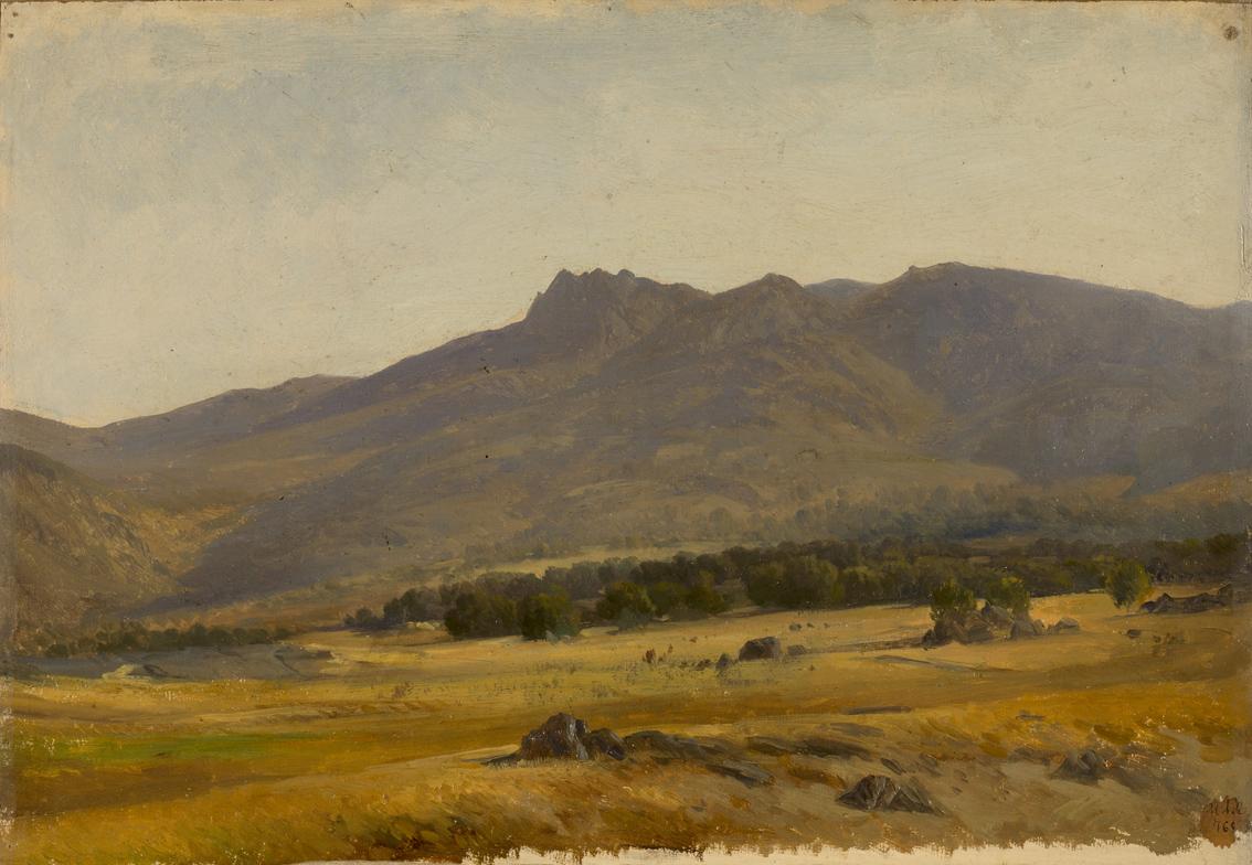 Valle de la sierra de Guadarrama, de Haes,