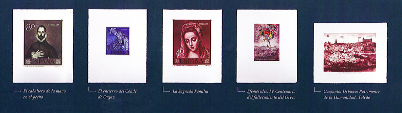 Grabados de la colección del Greco.