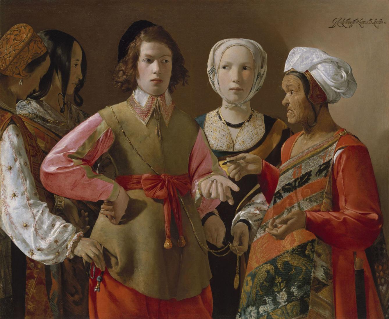 George de La Tour en el Museo del Prado.