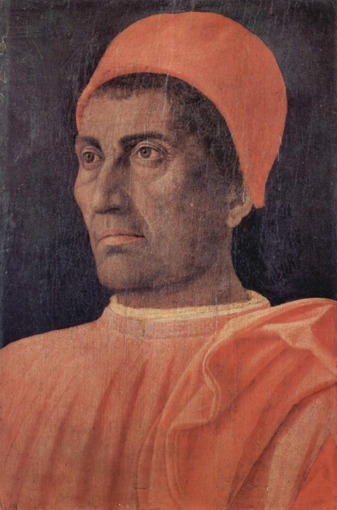 Retrato de Carlo de Médicis, 1466, 40,5 × 29,5 cm, Florencia, Galería de los Uffizi.