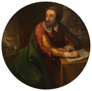 Retrato de Miguel de Cervantes Saavedra, anónimo, h. 1800, óleo, Museo Casa de Cervantes, Valladolid.