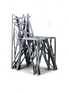 C2 Solid, diseño de Patrick Jouin en colaboración con MGM by Materialise.