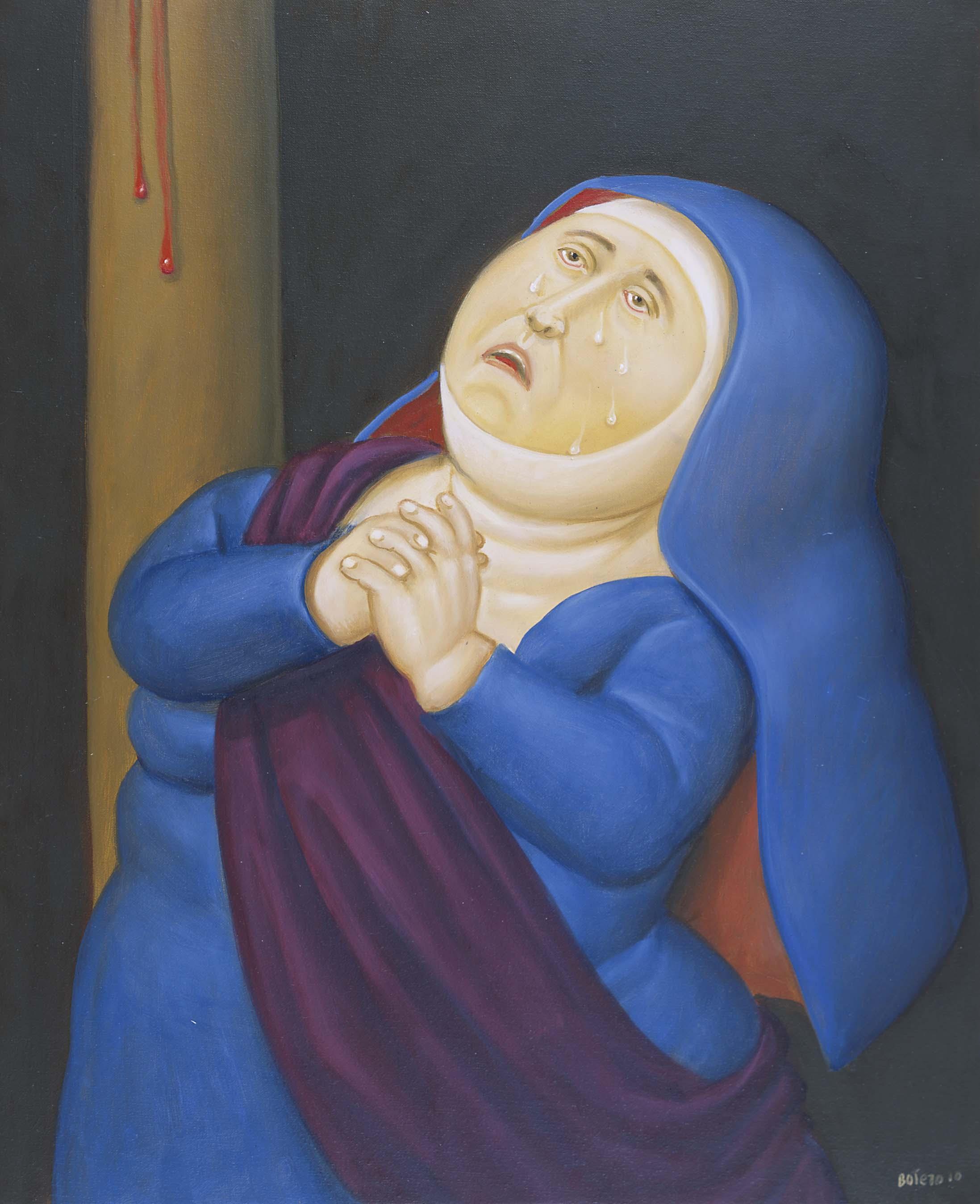 6 Madre afflitta