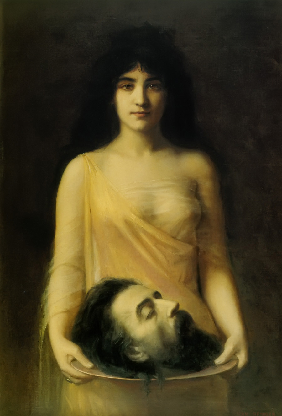 Salomé, de Jean Benner, h. 1889.