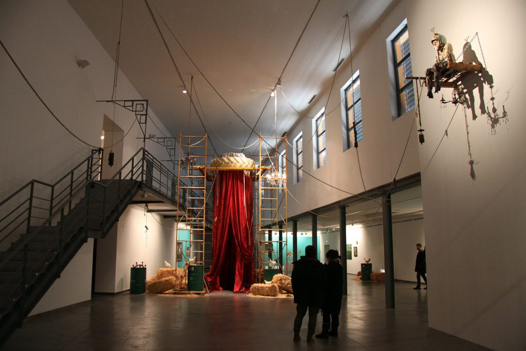 Vista general del Teatrorum.