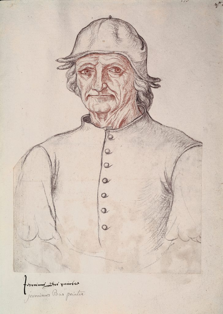 Retrato del Bosco, de Jacques Le Boucq, h. 1550, Arras, Biblioteca Municipal.