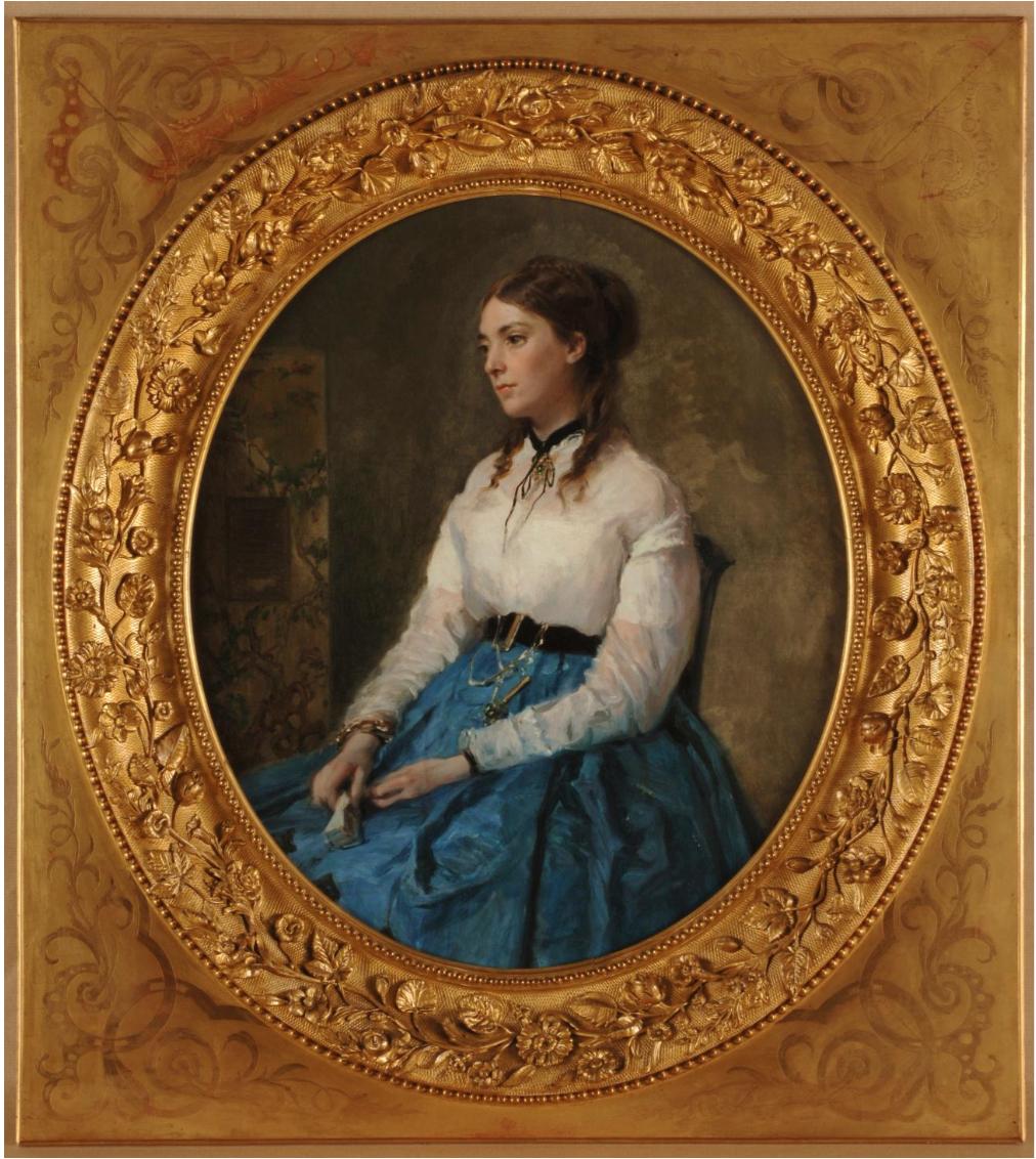 Margarita Tewart de Madrazo, por Raimundo de Madrazo y Garreta, 1865-67.