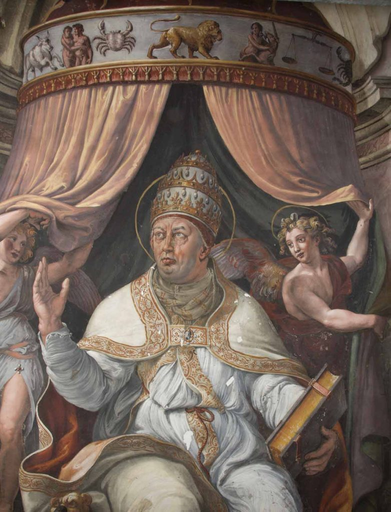 Visión de la Cruz, Papa Clemente I.