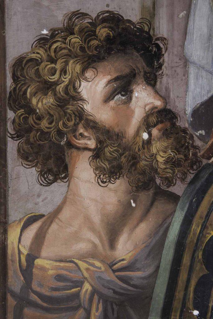 Visión de la Cruz. Soldado romano.
