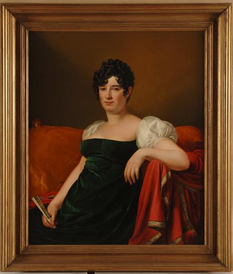 Marquesa de Branciforte, por José de Madrazo, 1812-1813.