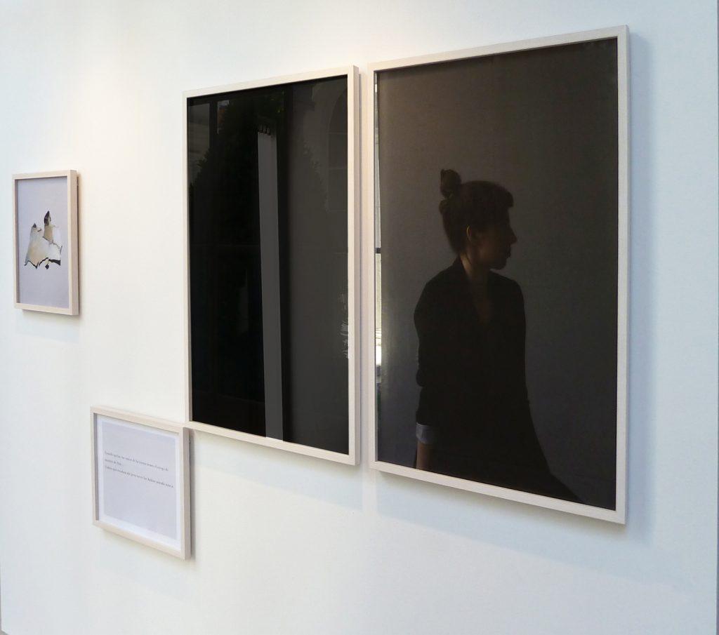 Vicky Méniz: Claire van Kuijk, Mapa III y sin título, impresión fotográfica lambda, 2016.