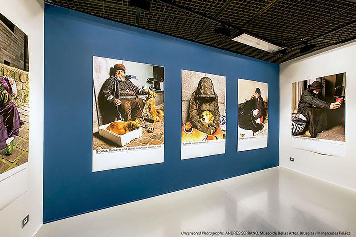 Denizens of Brussels. Uncensored Photographs, Andrés Serrano. Museo de Bellas Artes de Bruselas. © Mercedes Peláez.