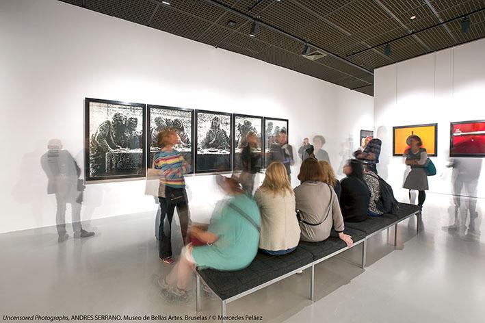 Uncensored Photographs, Andrés Serrano. Museo de Bellas Artes de Bruselas. © Mercedes Peláez.