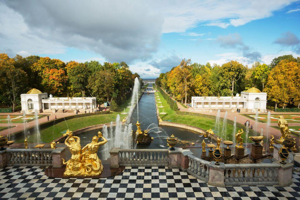 Palacio Imperial de Peterhof.