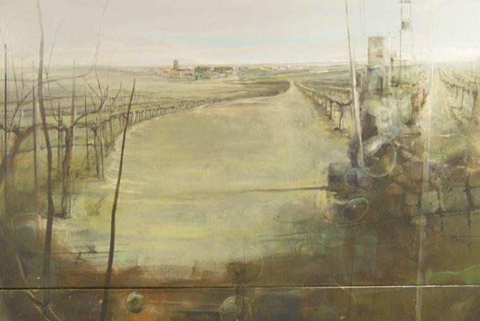 de Fernando Wilson Ruiz, ganador del primer premio de pintura del XVI Certamen de Pintura y Escultura..