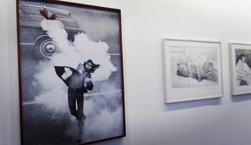 Liber, por Rogelio López Cuenca, obra expuesta en el stand de la Galería Juana de Aizpuru.