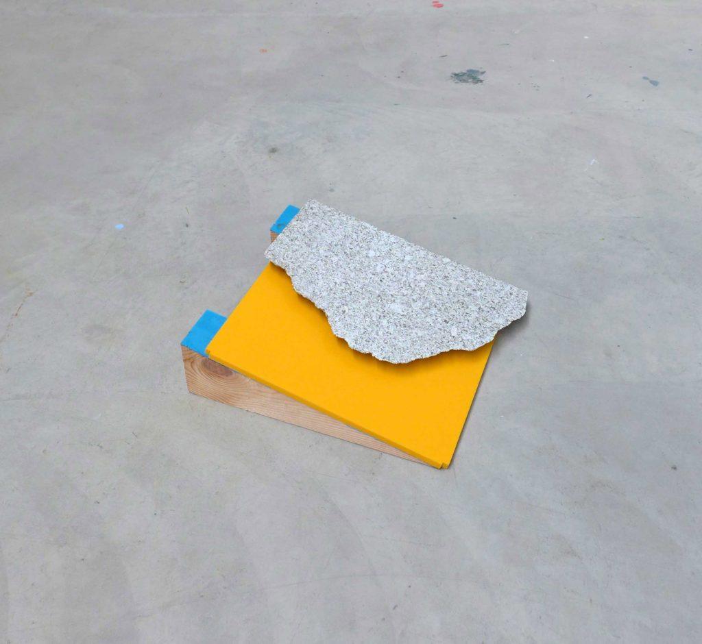 Sin título, Ana H. del Amo, galería Fran Reus.