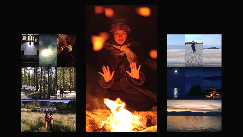 María, por Bill Viola y Kira Perov, videoinstalación. Cortesía Blain Southern.