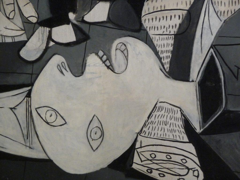Detalle del Guernica.