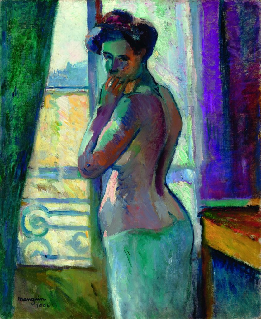 Devant la fenêtre, de Henri Manguin, 1904, colección particular © Henri Manguin © Claude Almodovar.