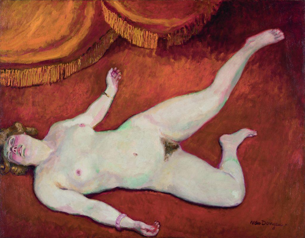 Femme nue blonde, de Kees van Dongen, 1906, David Nahmad, Mónaco © Kees van Dongen © Patrick Goetelen.