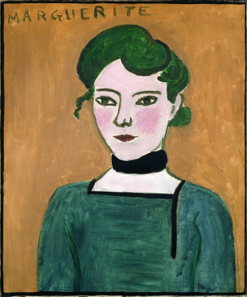 Marguerite, de Henri Matisse, 1907, París, Musée National Picasso, donado en 1973 © Succession H. Matisse/© RMN-Grand Palais (musée Picasso de Paris) / René-Gabriel Ojéda.