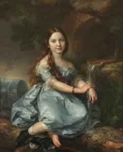 Luisa de Prat y Gandiola, luego marquesa de Barbançon, por Vicente López Portaña, h. 1845, óleo sobre lienzo, 104 x 84 cm, Madrid, Museo Nacional del Prado.