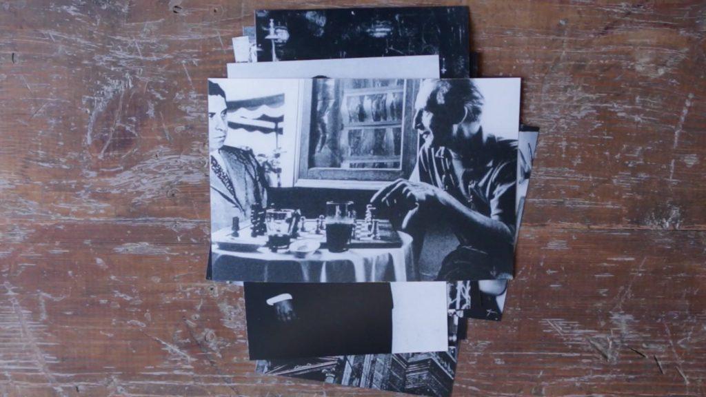 "Fotograma de ""Manual de instrucciones para interpretar falsas novelas"", de Marla Jacarilla."