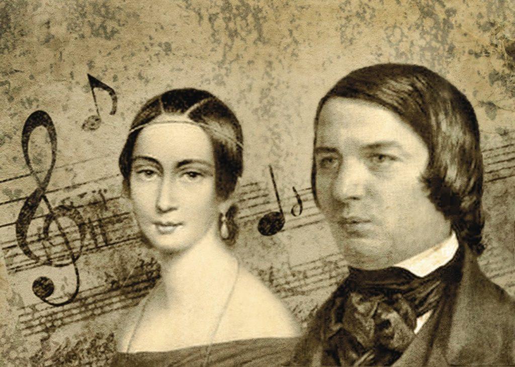 Robert y Clara Schumann.