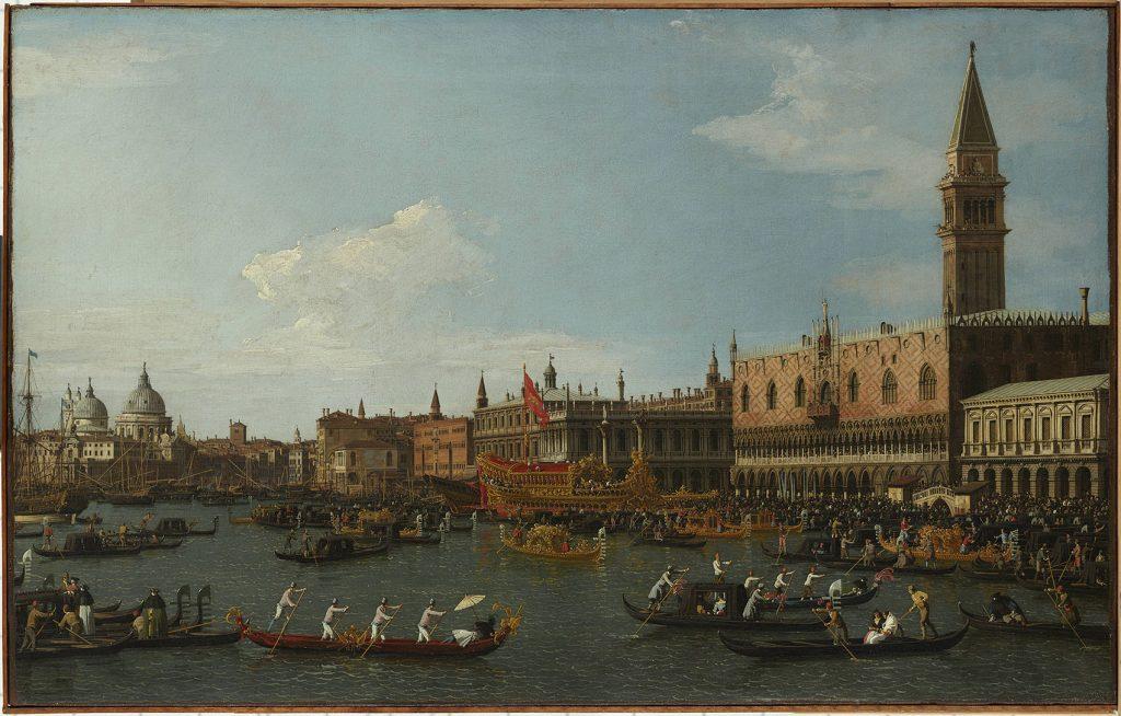 giovanni-antonio-canal-canaletto-i-il-bucintoro-i-c-1745-1750-oleo-sobre-lienzo-57-x-93-cm