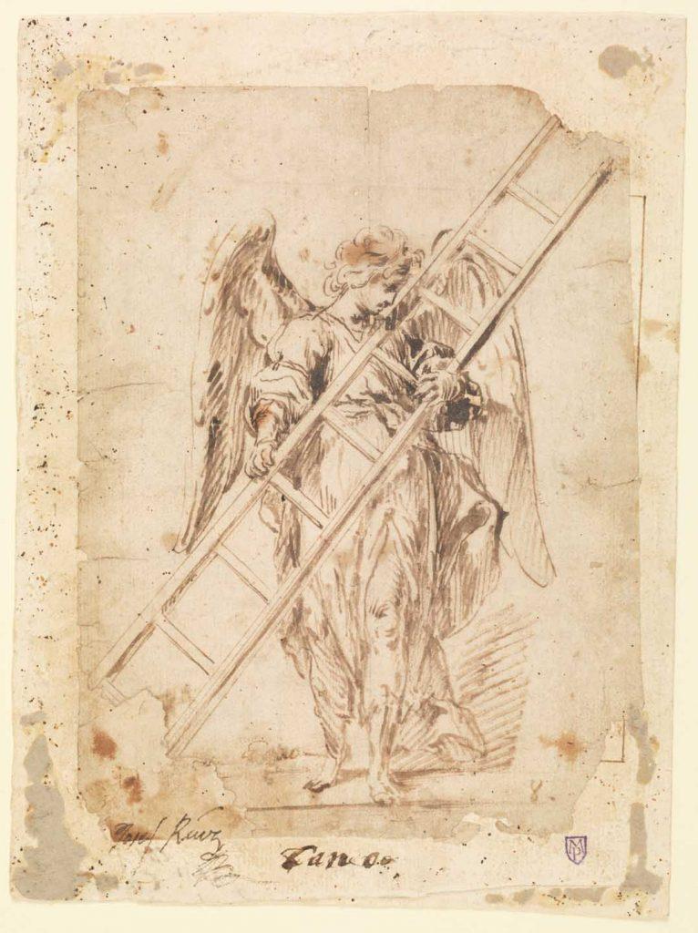 Ángel con la escalera de la Pasión, Madrid, Museo del Prado.