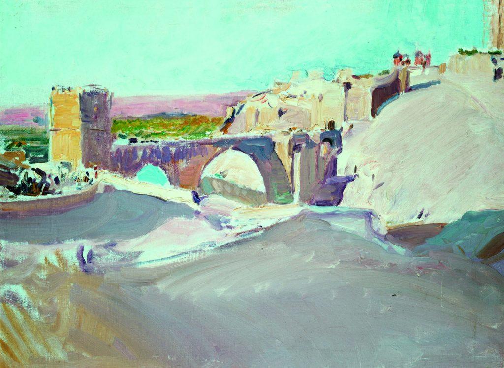 Joaquín Sorolla y Bastida, Toledo desde los cigarrales, 1912. Óleo sobre lienzo, 49,5 x 65 cm. Fundación Museo Sorolla, Madrid.