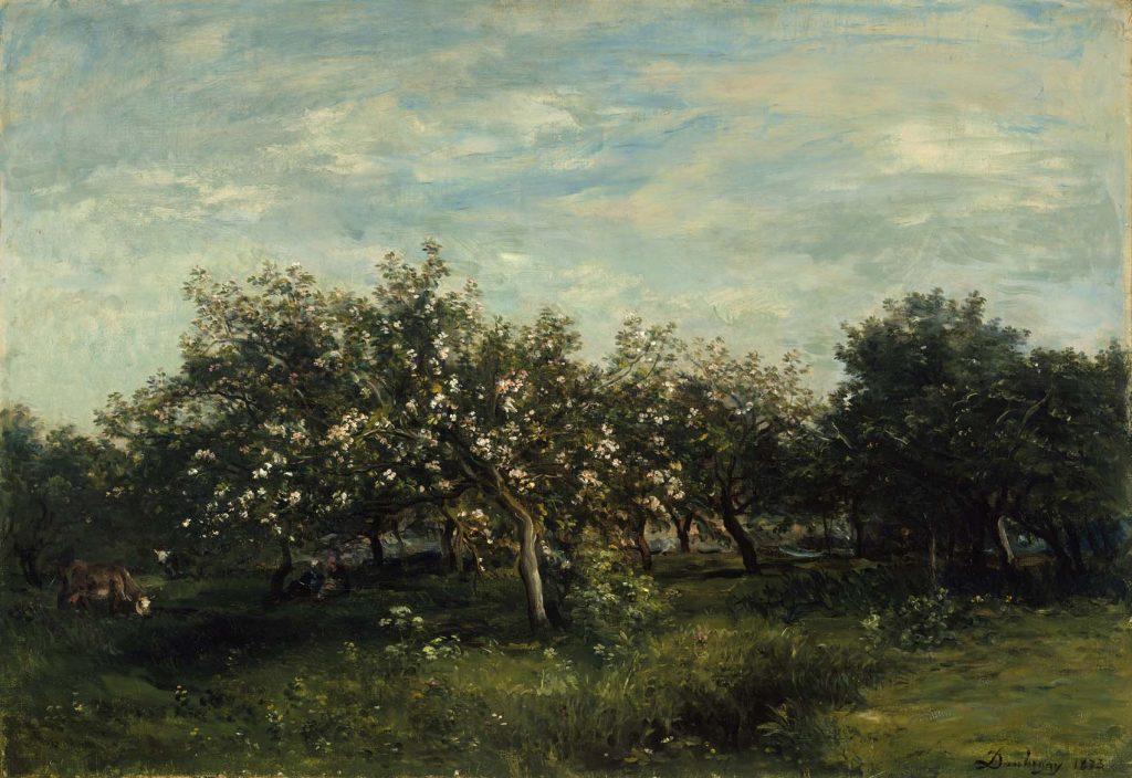 Appelbloesems, de Daubigny.