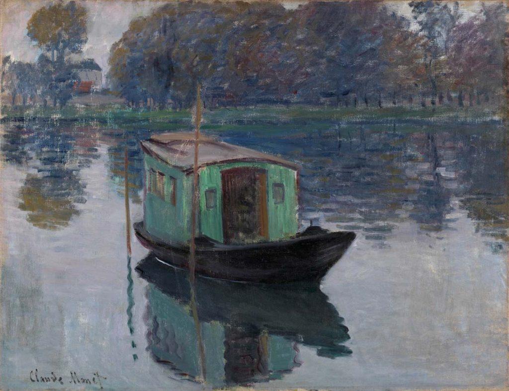 De schildersboot, de Claude Monet.