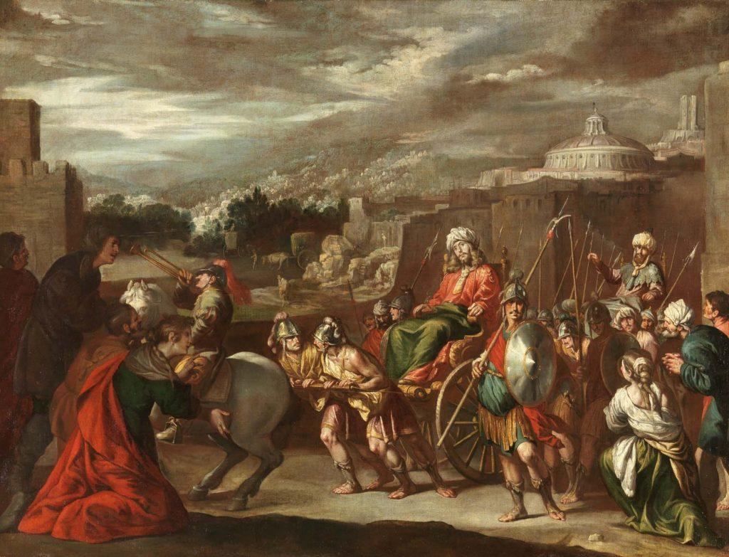 El triunfo de José en Egipto, Madrid, Museo del Prado.