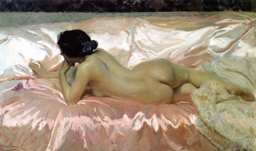 Desnudo de mujer, 1902, colección particular.