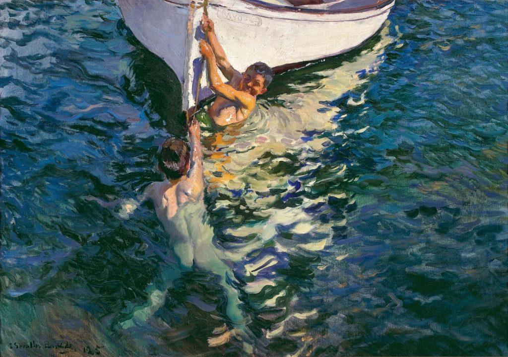 El bote blanco, 1905, colección particular.
