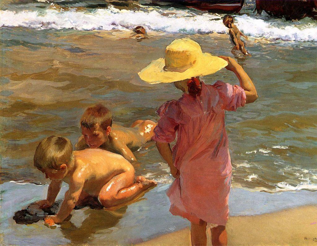 Niños a la orilla del mar, 1903, Museo de Filadelfia.
