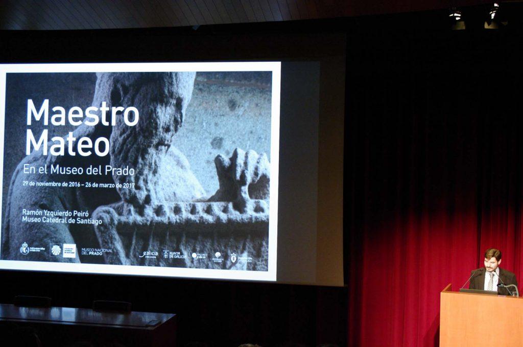 Ramón Yzquierdo Peiro, director técnico – conservador del Museo Catedral de Santiago y comisario de la muestra. Foto © Museo Nacional del Prado.