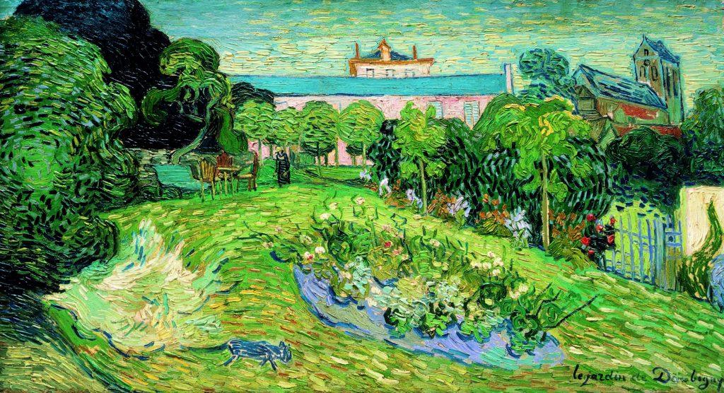 De tuin van Daubigny, de Van Gogh.