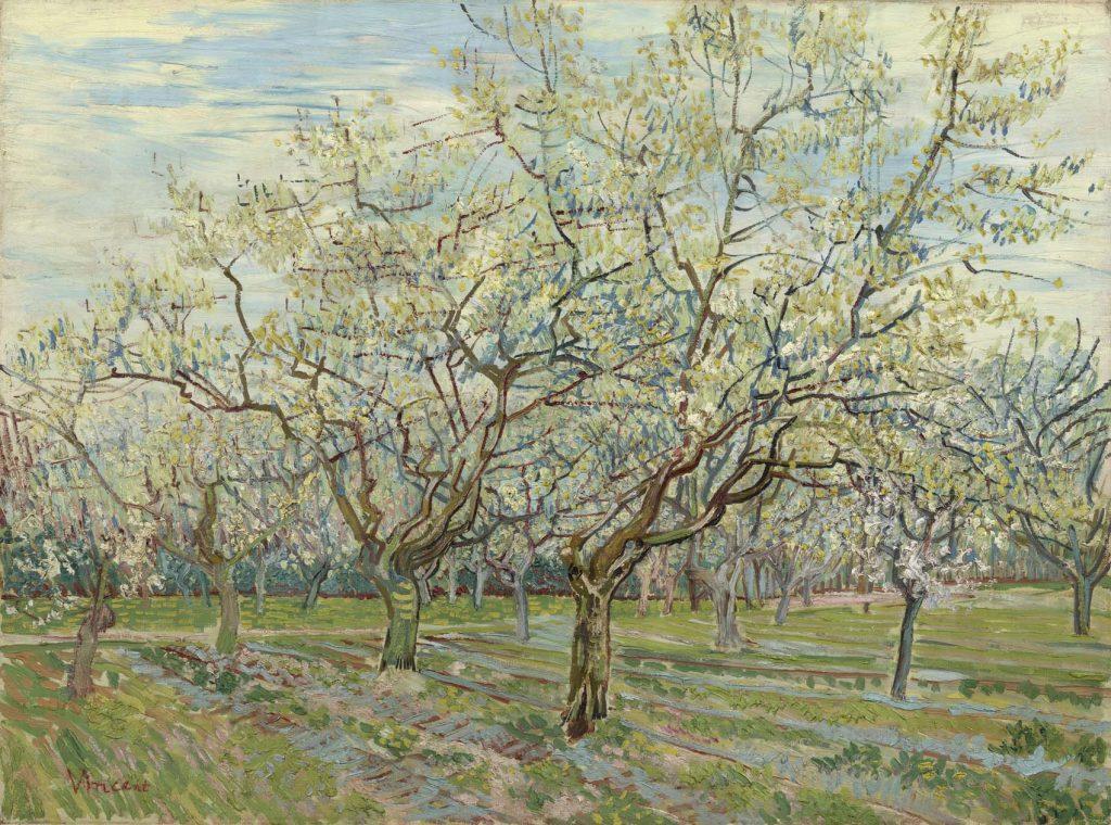 De whitte boomgaard, de Van Gogh.