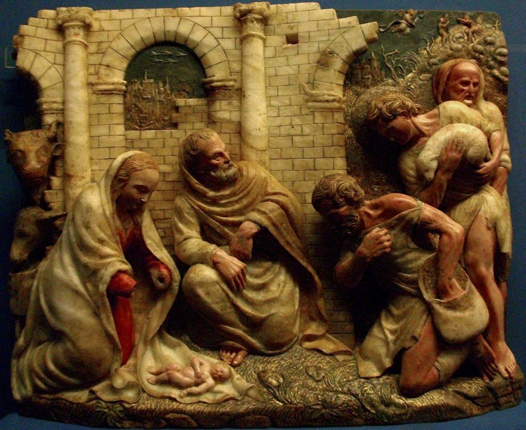 Adoración de los pastores, de Damián Forment.